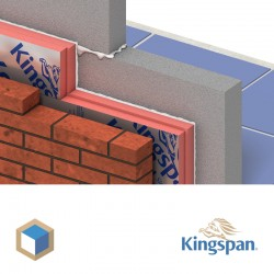 Pack Kooltherm K8 Plus cavity wall board  117/20 mm thick