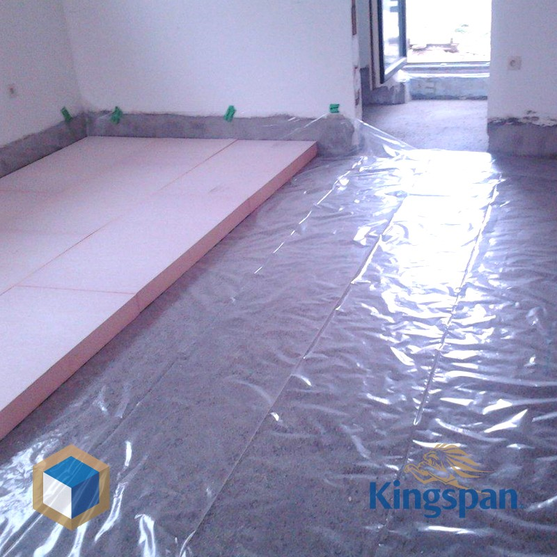 Kooltherm k3 140 mm for 100mm kingspan floor insulation